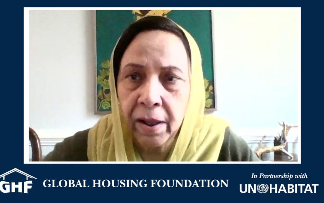 GHF Conversation: Dr. Talat Rizvi, Public Health Scientist: Housing As A Social Determinant of Health